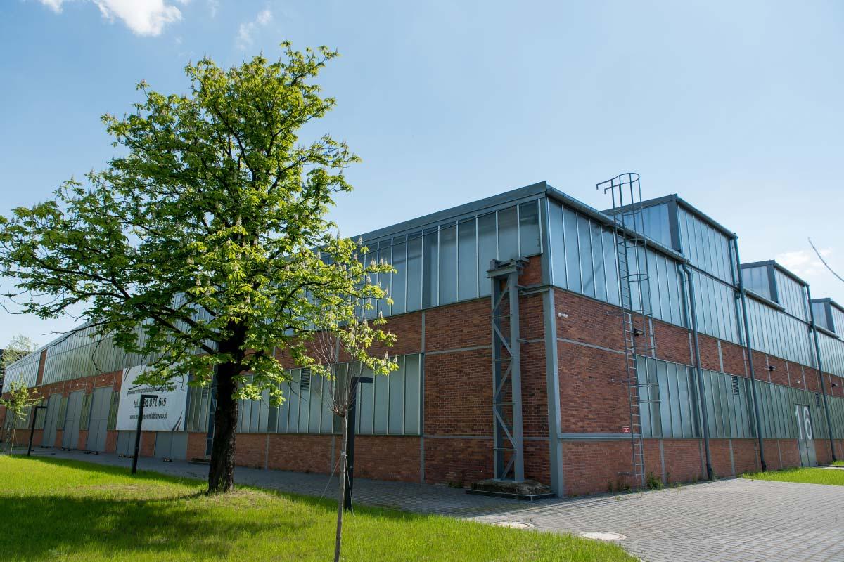 Hala Nowa 7 miejsce dostosowane do potrzeb przemysłu