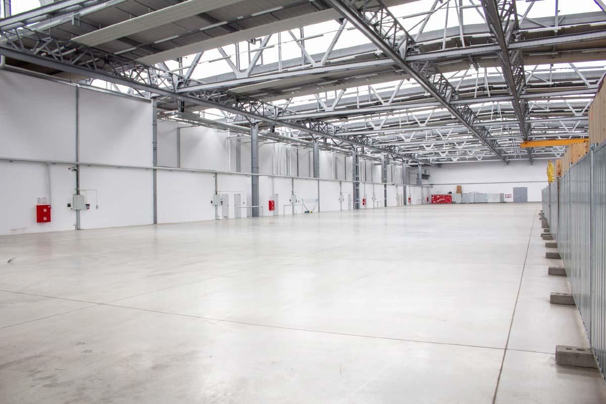 Hala Nowa 7 to ponad 20 tys. mkw powierzchni dla przemysłu
